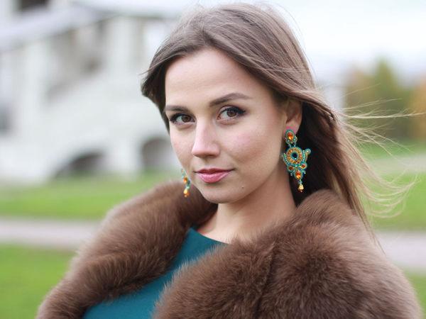 Осенняя фотосессия с моими украшениями | Ярмарка Мастеров - ручная работа, handmade