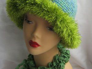 Новая работа: Вязаная Бретонская Шляпа для женщин. Ярмарка Мастеров - ручная работа, handmade.