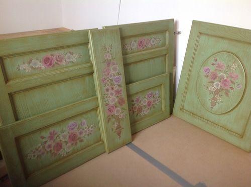 роспись мебели, мастерская строгановой