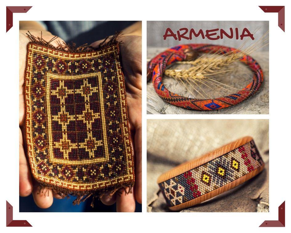 армения, коллекция работ, этнические украшения, армянские украшения, бисер, бисероплетение, авторская ко, авторские украшения