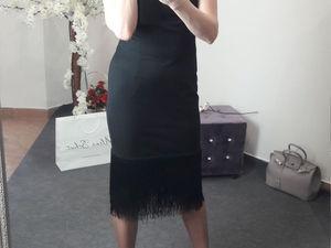 Платье с бахромой | Ярмарка Мастеров - ручная работа, handmade