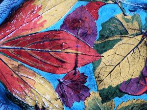 Серия тарелок Листопад.. Ярмарка Мастеров - ручная работа, handmade.