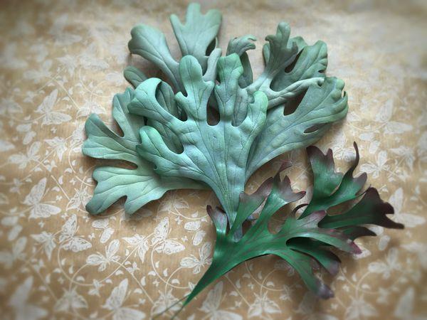Видео мастер-класс: создаем  из фоамирана листья зелени для букета | Ярмарка Мастеров - ручная работа, handmade