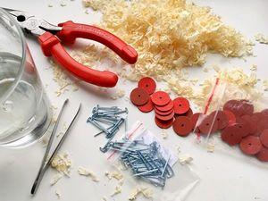 Эксперимент: влияние влаги на диски и шплинты для мишек тедди. Ярмарка Мастеров - ручная работа, handmade.