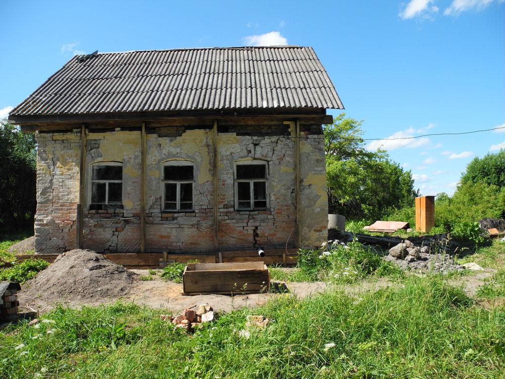 жизнь в деревне, дом