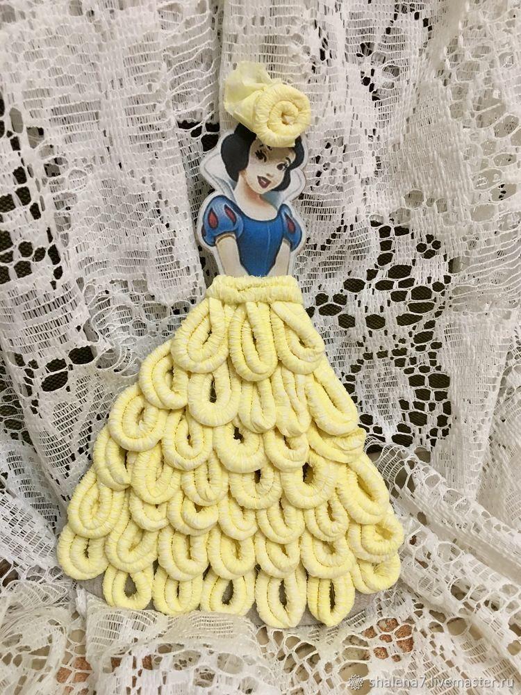 платье из салфеток, лайфхаки