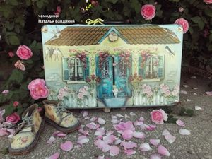 Новая жизнь старого чемодана. Сказка детства.. Ярмарка Мастеров - ручная работа, handmade.