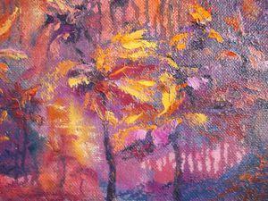 Мастер-класс по интуитивной живописи: пишем абстрактный лес. Ярмарка Мастеров - ручная работа, handmade.