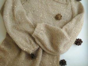 Стартуют Новогодние Аукционы с Нуля!!!!!!туника из Итальянского Кидмохера!!!. Ярмарка Мастеров - ручная работа, handmade.