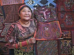 Старинное рукоделие: молы индейцев племени Куна. Ярмарка Мастеров - ручная работа, handmade.