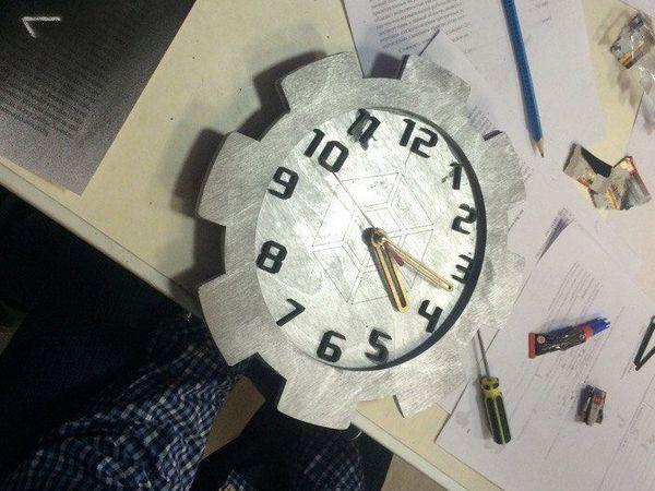 Создаем часы из дерева с детьми | Ярмарка Мастеров - ручная работа, handmade