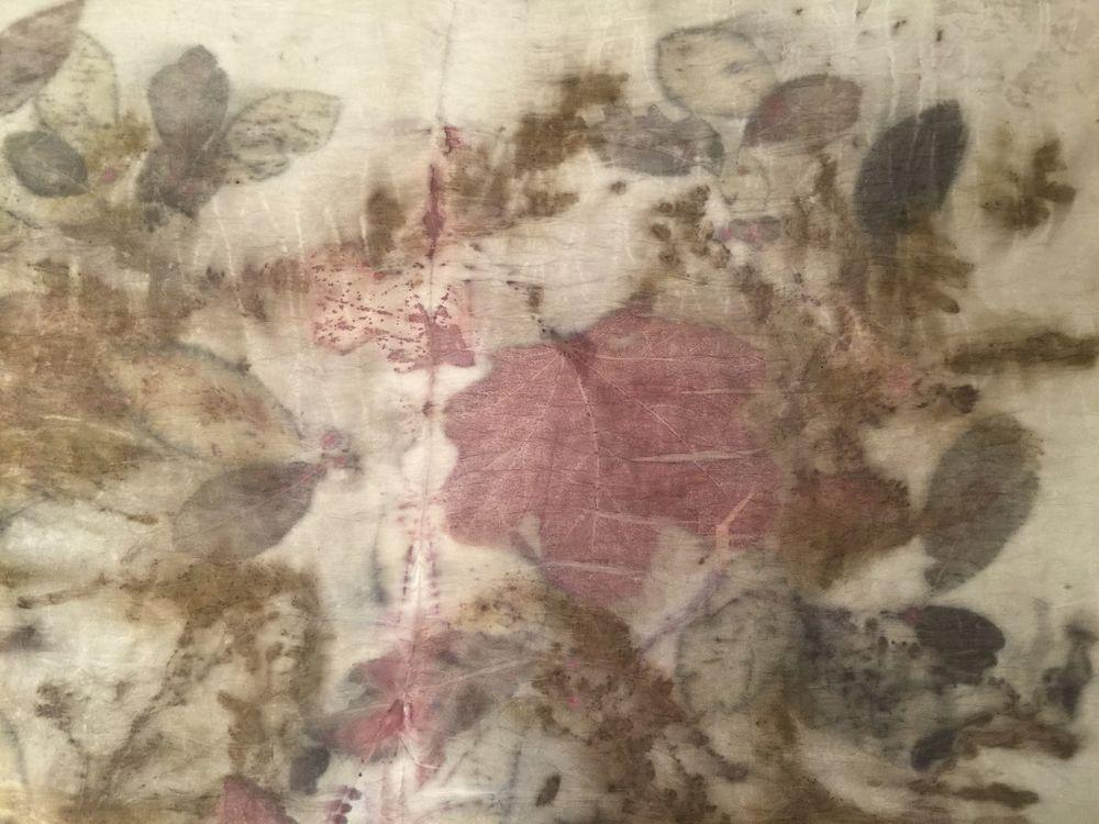 шелковый купон ткани