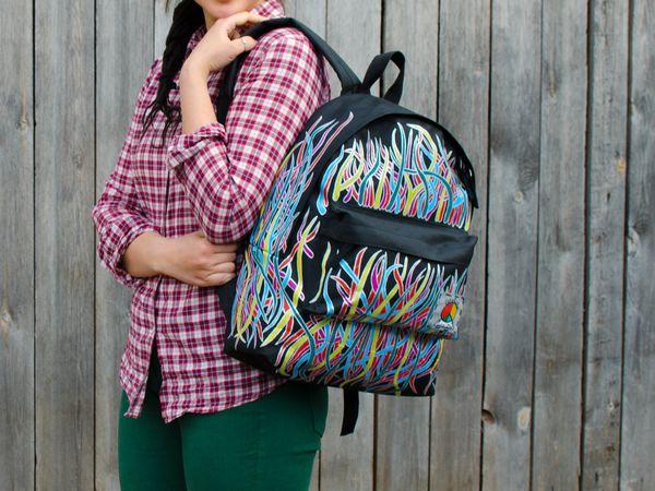 Скидка 20% на торбу и рюкзак от Gelekoka & SisterZhe | Ярмарка Мастеров - ручная работа, handmade