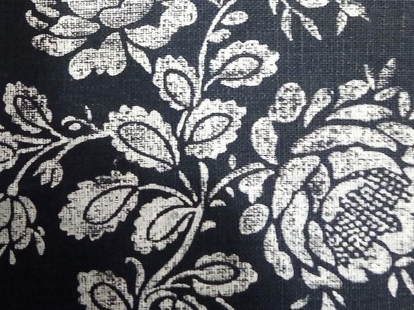 декор ткани, ручная работа, льняная ткань, недорогой мк