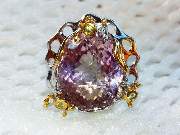 Новое кольцо с аметрином! Видео!!! | Ярмарка Мастеров - ручная работа, handmade