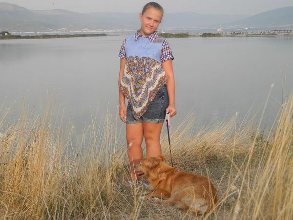 Творим вместе с ребенком: туника из павловопосадского платка с валяной кокеткой | Ярмарка Мастеров - ручная работа, handmade