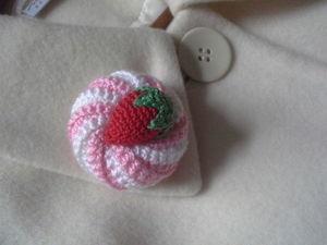Сладкие брошечки для маленьких принцесс.. Ярмарка Мастеров - ручная работа, handmade.