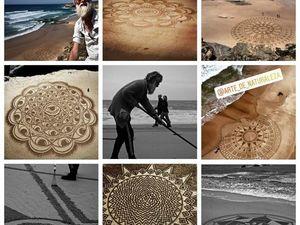 Пляжные мандалы. Ярмарка Мастеров - ручная работа, handmade.