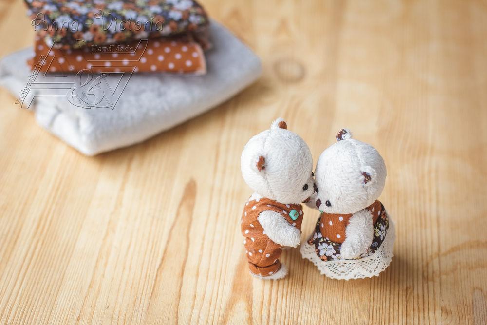 мишки в одежде, мишка тедди, влюбленные мишки