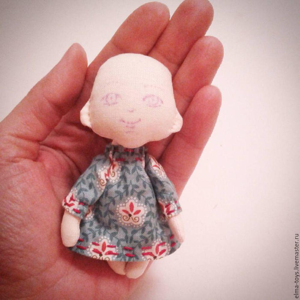 мастер-класс, маленькая куколка, как укрепить шов, какую ткань выбрать