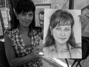 Размышления портретиста.. Ярмарка Мастеров - ручная работа, handmade.