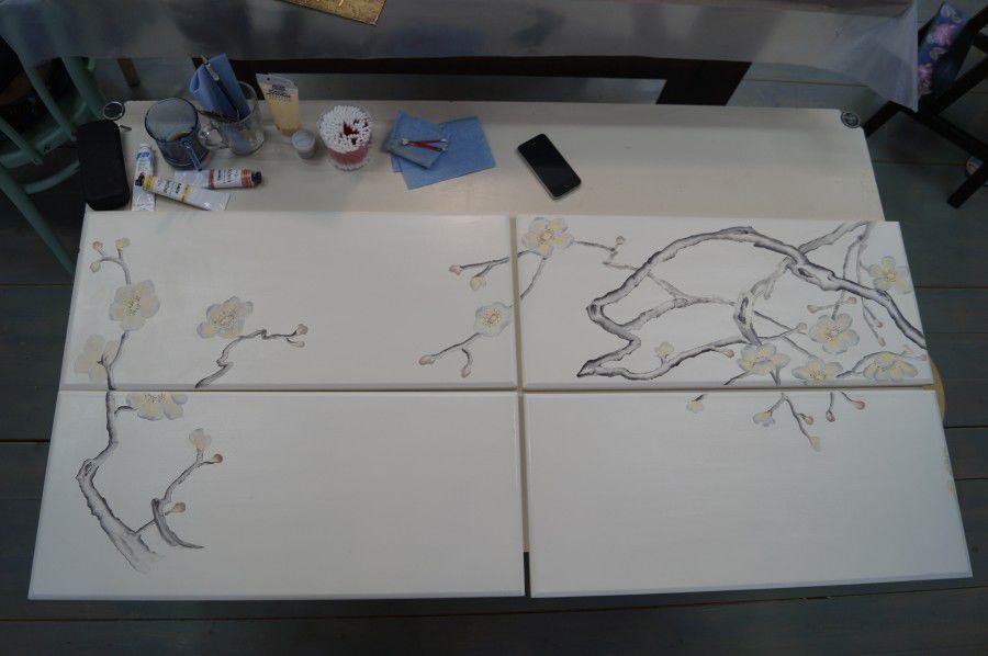 обучение росписи мебели
