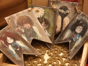 Хвастушки! Авторский декупаж. Новогодняя коллекция. Ярмарка Мастеров - ручная работа, handmade.