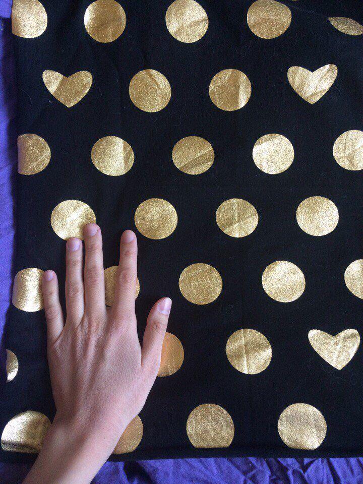Образец кулирки с золотым напылением Варак, фото № 2