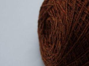 Пряжа шерсть ягненка мериноса, цвет - rust. Ярмарка Мастеров - ручная работа, handmade.
