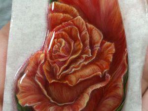 4 слой для Марины - Солнечная роза | Ярмарка Мастеров - ручная работа, handmade