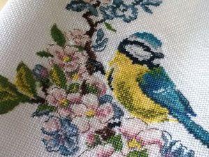 Готов повтор на вышивку «Синичка». Ярмарка Мастеров - ручная работа, handmade.