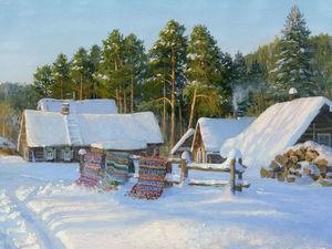 Вот и наступила Зима. Ярмарка Мастеров - ручная работа, handmade.
