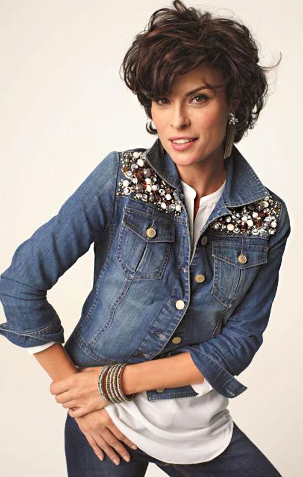 Многообразный декор джинсовых курток: 50 интересных вариантов, фото № 29