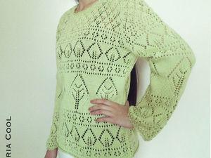 Предложи свою цену за свитер из 100% хлопка. Ярмарка Мастеров - ручная работа, handmade.