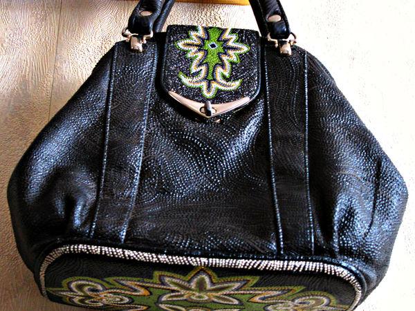 Как старенькую сумочку привести в божеский вид. | Ярмарка Мастеров - ручная работа, handmade