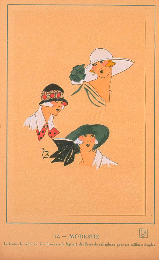 Ах, какие шляпки! Шляпная мода 1922 года по версии французского журнала «Les chapeaux du Tres parisien». Часть 2, фото № 14