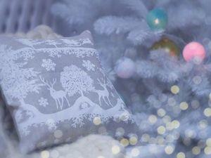 Новогодние подушечки