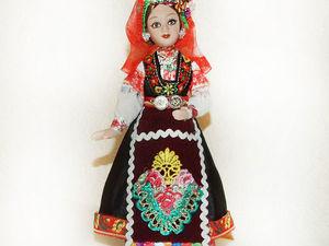 Болгарка — моя кукла, особенности болгарского народного костюма. Ярмарка Мастеров - ручная работа, handmade.
