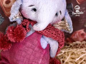 Тедди слоник Бруно фотосессия карапузиков. Teddy elephant Bruno.. Ярмарка Мастеров - ручная работа, handmade.