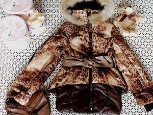 Последний шанс приобрести пальто на девочку с хорошей скидкой!. Ярмарка Мастеров - ручная работа, handmade.