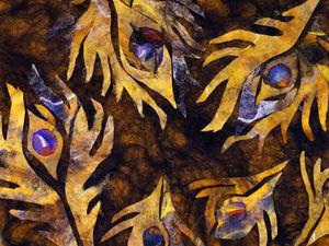 Отчёт о МК  «Ажурный шарф с элементами шёлковой инкрустации». Ярмарка Мастеров - ручная работа, handmade.