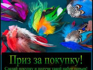 АКЦИЯ Раздаю перья бесплатно! Только сейчас!. Ярмарка Мастеров - ручная работа, handmade.