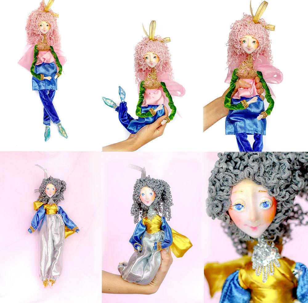 недорогой подарок, кукла из проволоки