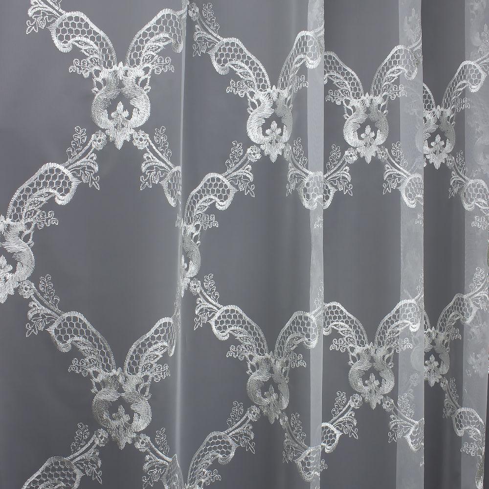декор для дома, со скидкой, индивидуальный пошив, белый тюль купить