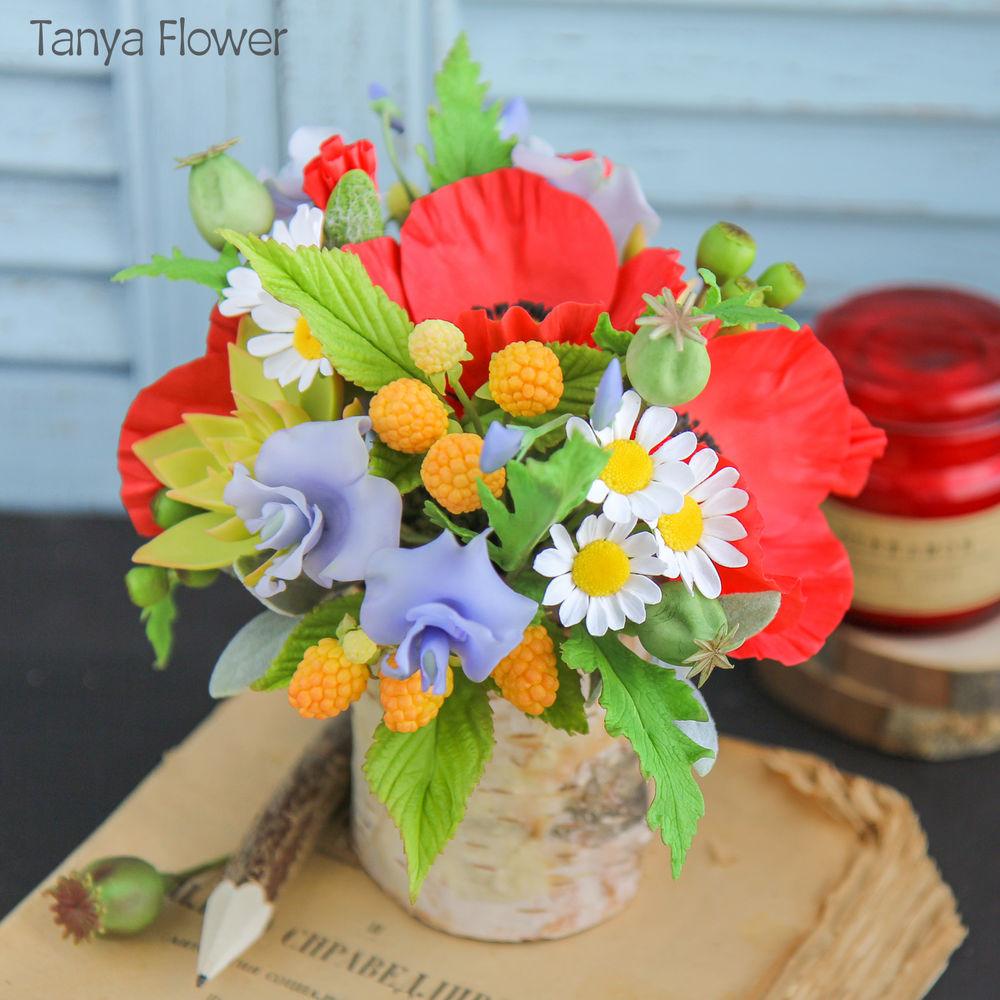 tanya flower, керамическая флористика