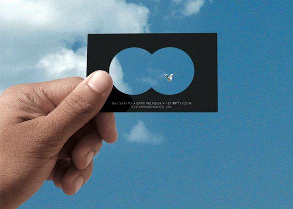 необычные визитки