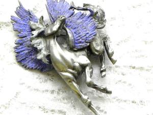 Видео. Брошь Пегас, Jonette Jewelry, США. Ярмарка Мастеров - ручная работа, handmade.