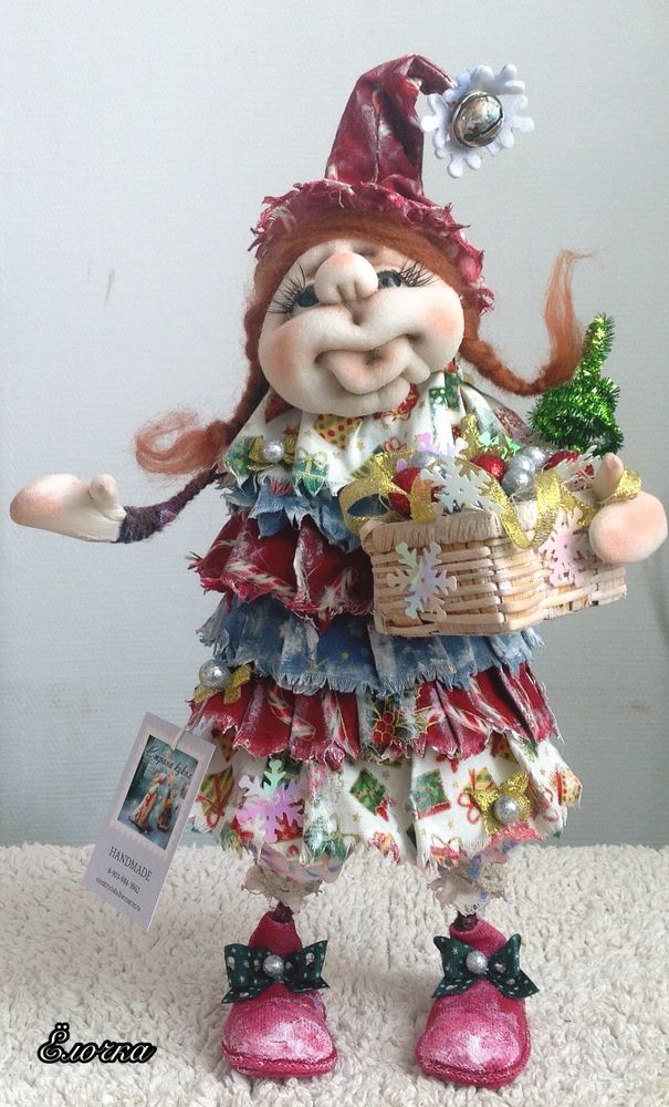 кукла, подарок на новый год