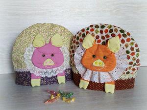 Жизнерадостные свинки для Ваших чаепитий!. Ярмарка Мастеров - ручная работа, handmade.
