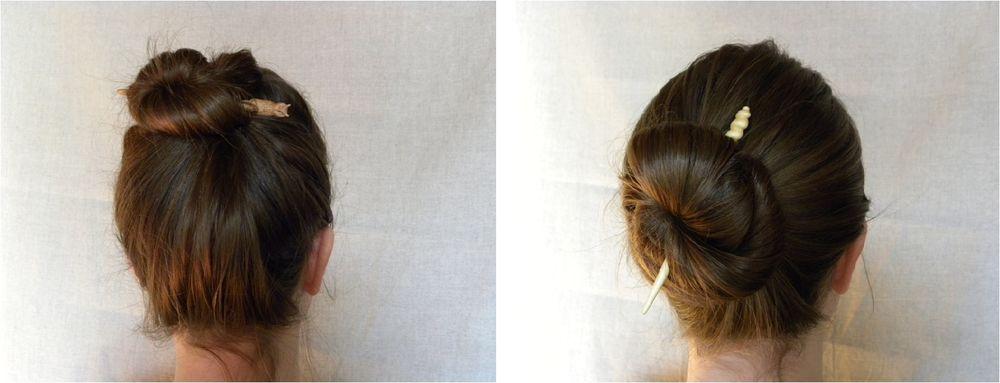 Как собрать волосы в пучок при помощи волшебной палочки, фото № 7